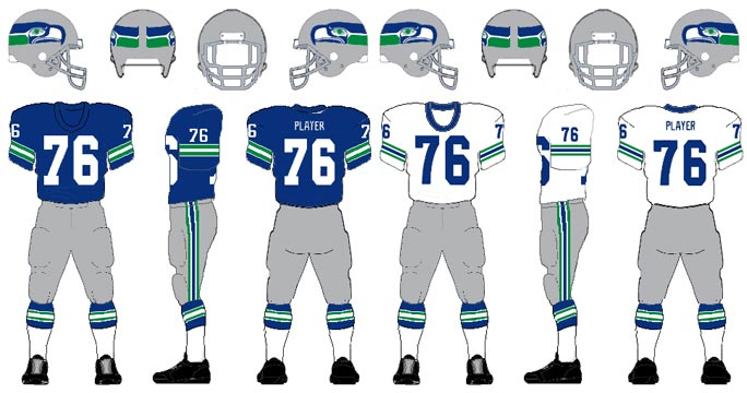 new concept 16629 3c590 Seahawks should develop throwback uniform for 40th anniversary