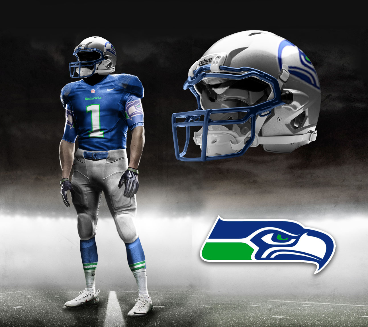 new concept e5d54 e6db1 Seahawks should develop throwback uniform for 40th anniversary