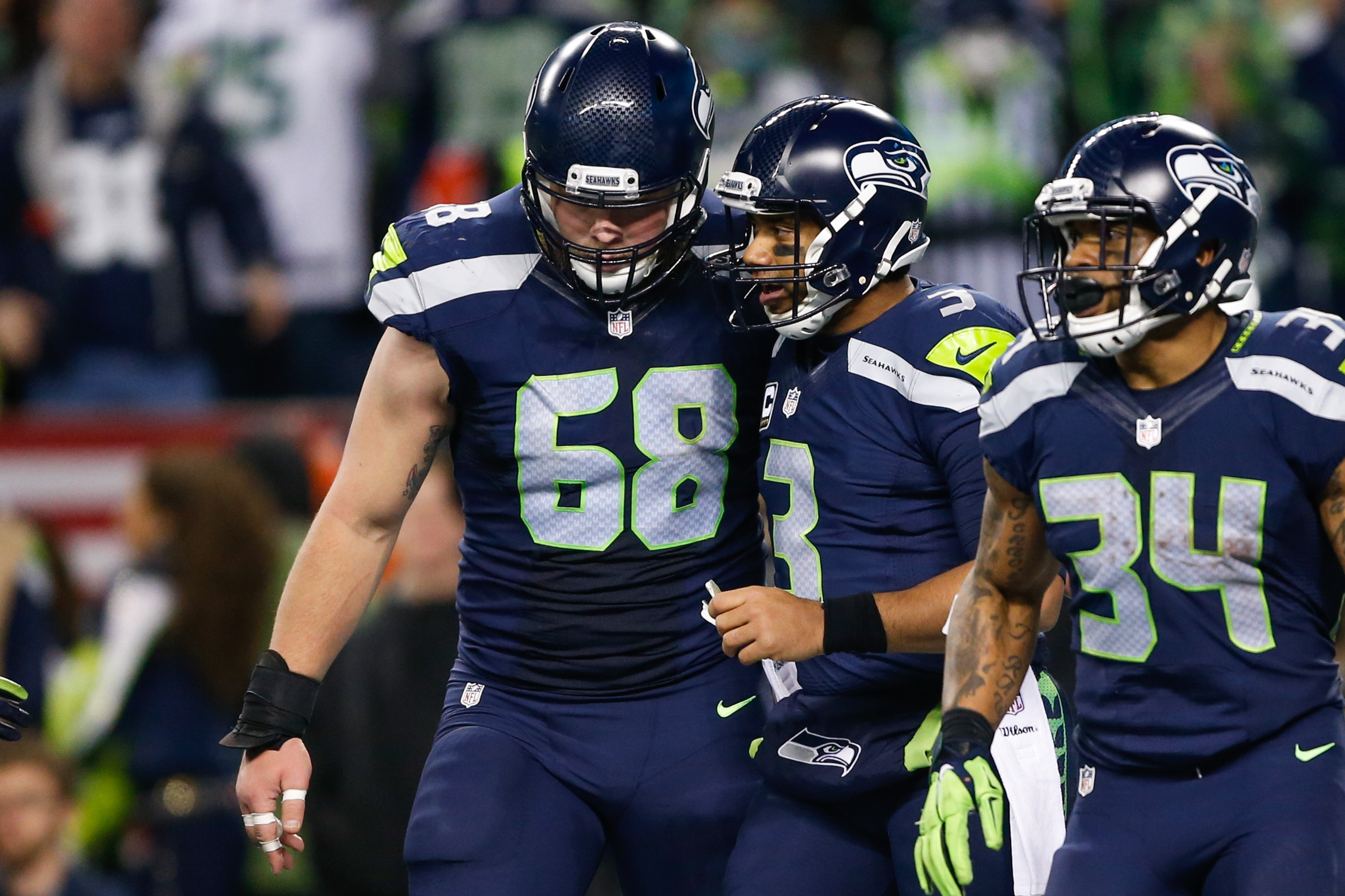 Seahawks: Predicting The Seahawks Offensive Linemen In 2017